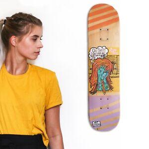 skateboard-by-matdisseny-skate-art-recycled-deck-034-Tattooed-Girl-034