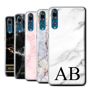 quality design 1a81e 19173 Details about Personalized Custom Marble Phone Case for Huawei P20  Pro/Initial/Name/Text Cover