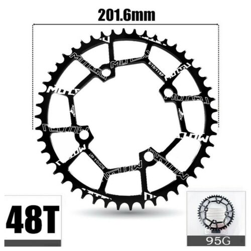 40-52T 104BCD CNC Aluminum Alloy Narrow Wide MTB Road Bike Chainring Crank Set