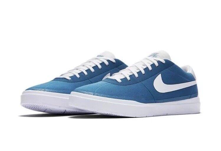 Nike sb board bella hyperfeel tela skate board sb scarpe blu - bianco 883680-411 dimensioni 6 6018cb