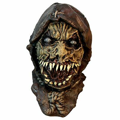 Adult Men/'s Teen Scary Bloody Undead Face Off Horror Halloween Costume Full Mask