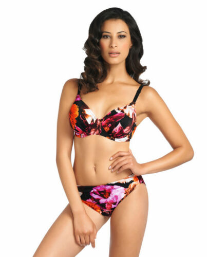"NWT /""Ecuador/"" by Fantasie Floral Bikini Swim Bottom Size S Boutique 70/% Off"