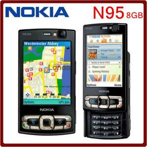 Unlocked-origina-Nokia-N95-8GB-Storage-Camera-5MP-Mobile-phone-smartphone-black