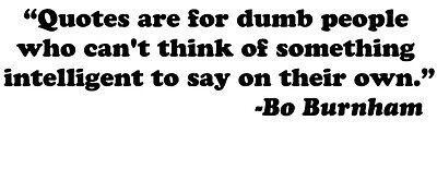 Bo Burnham quote vinyl decal sticker comedy Quotes are for ...