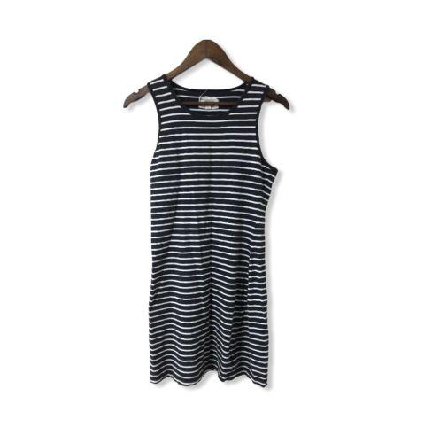Current/Elliott The Louella Tank Striped Dress Siz