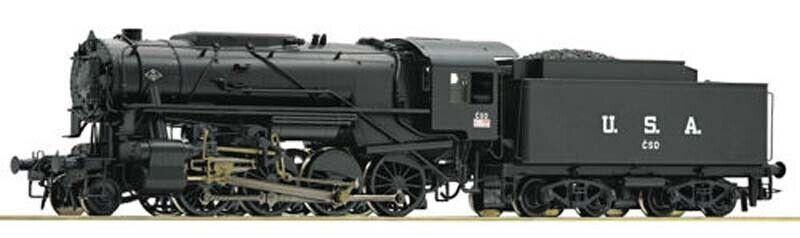 Roco CSD S160 Steam Locomotive III (DCC-Sound) HO Gauge RC72165