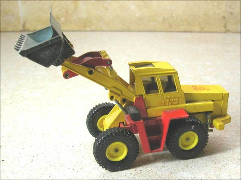 OLD ORIGINAL ZETTELMEYER EUROP L2000 WHEEL LOADER CONSTRUCTION VEHICLE    (20)