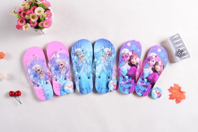 New Frozen Flip-flop Flip Flops Home Shoes Beach Shoes Street Shoe