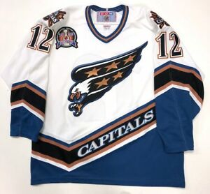 timeless design 73314 6988f Details about PETER BONDRA 1998 STANLEY CUP WASHINGTON CAPITALS CCM REPLICA  JERSEY SIZE XL