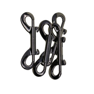 Double End Ended Trigger Hook Clip Snap Hooks Zinc Alloy Key Chain 90x27mm