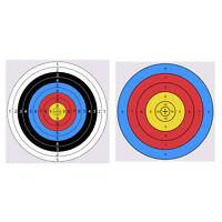 20/50pcs Archery Paper Face Target Archery Shooting Target Partice Paper 4141cm