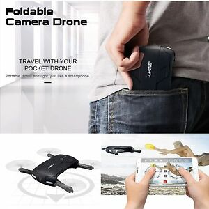 Foldable 6-Axis ELFIE Quadcopter Phone Contro Selfie WIFI 720P FPV Camera Drone