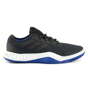 Adidas-Men-039-s-Crazytrain-LT-Carbon-Black-Royal-Training-Shoes-CG3493-NEW