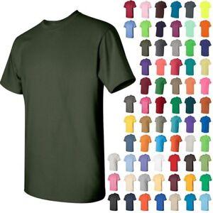 2da5a0311981 Gildan 5000 Heavy Cotton Short Sleeve T-Shirt S-L MORE COLORS FREE ...