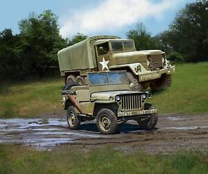 M34-Tactical-Truck-off-Road-Vehicle-Revell-Military-Kit-1-3-5-03260