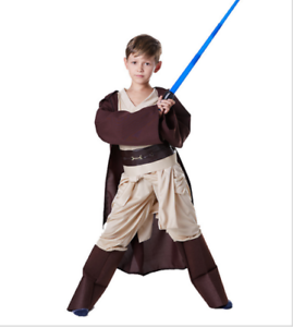 Star Wars Jedi Boys Cosplay* Luke Skywalker Kids Halloween Party Costume Outfit