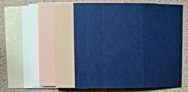 15 Place Cards in Assorted Colours 100mm x 50mm Finished Size NEW