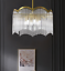 thumbnail 5 - Modern Crystal Gold Chandelier Round Glass Dining Room Living Light Fixture