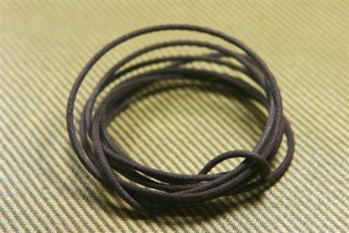 20 Gauge Stranded Cloth Wire 6 Feet Brown