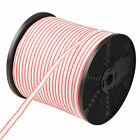Electric Fence Poly Tape 400m Roll Energiser Stainless Steel Insulator Visible