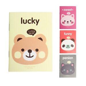 1Pc-Portable-Kraft-Paper-Cute-Cartoon-Notepad-Memo-Diary-Notebook-Exercise-Book