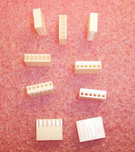 100 22-01-2061 MOLEX  6 POSITION CRIMP HOUSING RECEPTACLE 2.54mm KK-100 QTY