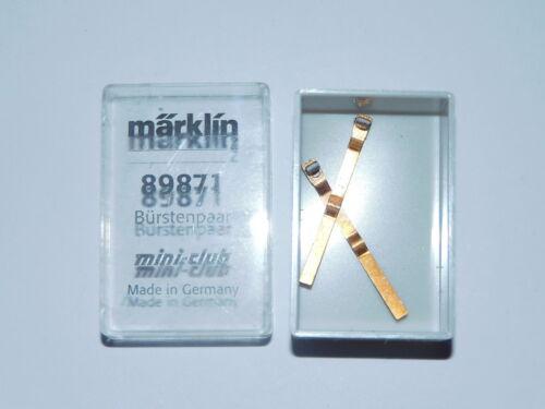 Bürstenpaar Märklin Mini-Club 89871