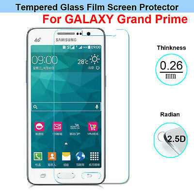 GenuineTempered Glass Screen Film for Samsung Galaxy Grand Prime G530H G5308W