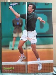 MICHAEL-STICH-Original-Vintage-French-Tennis-Magazine-Poster