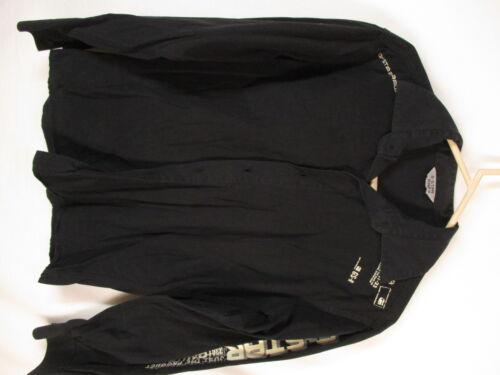 G Star Raw Mens Black Long Sleeve Cotton Shirt M I