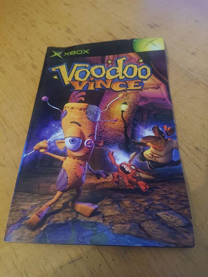 Voodoo Vince, Xbox, adventure