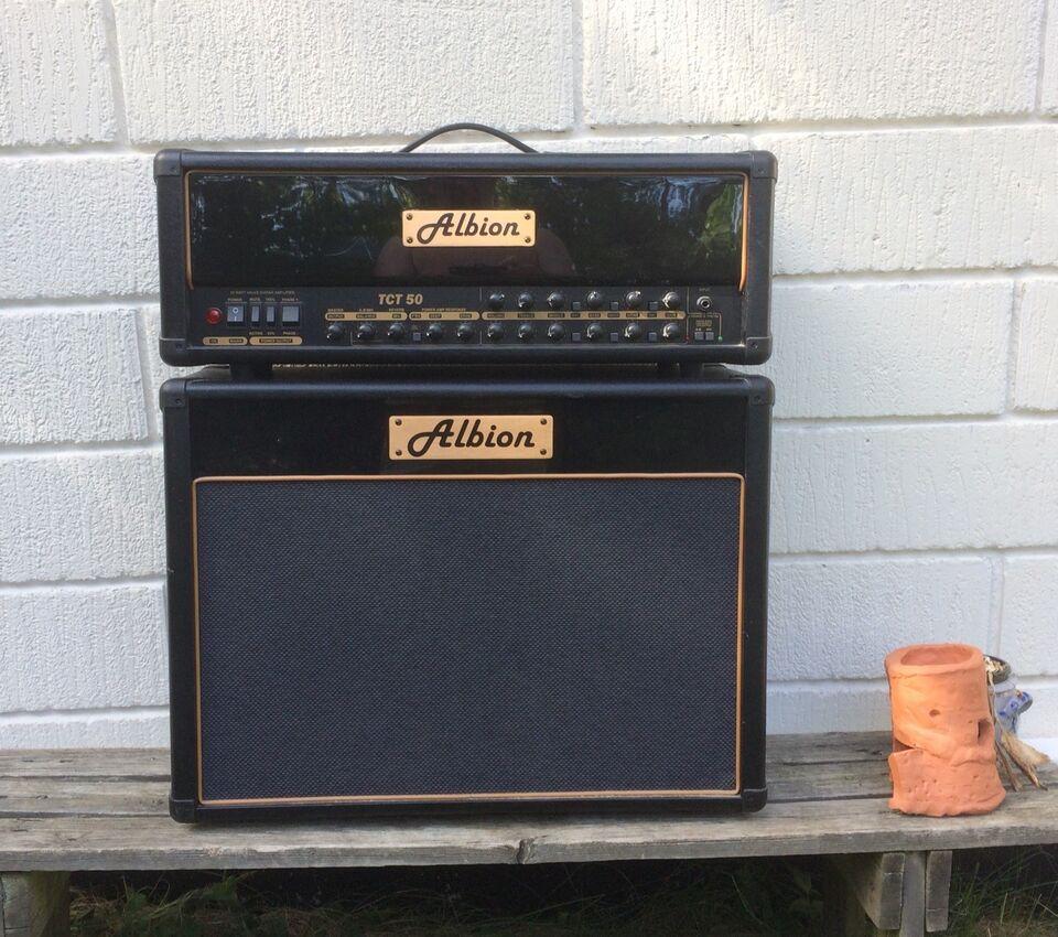 Guitarforstærker, Andet mærke Albion 50H