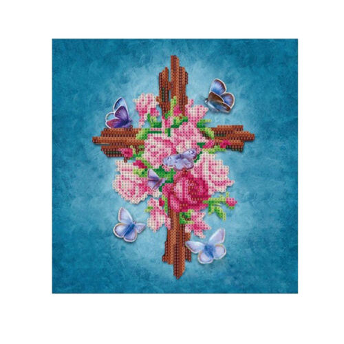 Religious Embroidery 5D Diamond Painting DIY Flower Cross Stitch Home Wall Decor