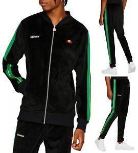 Ellesse-Herren-Velour-Reissverschluss-Track-Top-Oder-Jogginghose-Mit-Match-Anzug