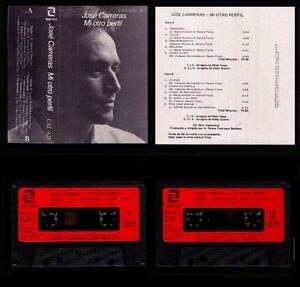 JOSE-CARRERAS-MI-OTRO-PERFIL-SPAIN-CASSETTE-ZAFIRO-1984-NEW-SEALED-NUEVO