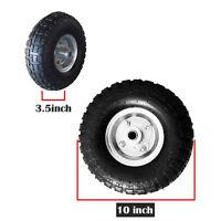 "2* 10"" inch Pneumatic Replacement Sack Hand Truck Trolley Wheel Cart Barrow Tyre"