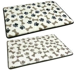 New Large Memory Foam Dog Mattress Pad Bed Warm Cushion Pet Cat