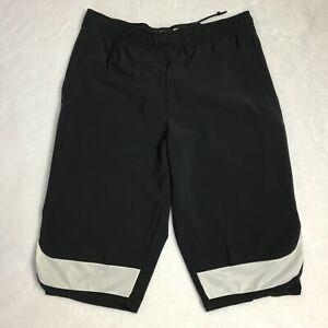 3d3c8f1fde1a7 Men s Nike Flex Project X Training Shorts Dri-Fit Size M Black White ...