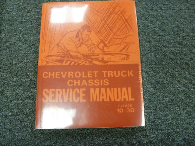 1972 Chevy C10 C20 C30 K10 K20 K30 Truck Chassis Shop