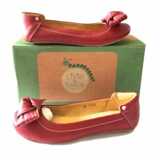 Leather Luca Scarpette Livie Slip per On Flats Work balletto Nola Real Smart Casual wtddH1