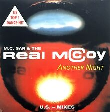 M.C. Sar & The Real McCoy ‎CD Single Another Night (U.S. Mixes) - France (VG+/