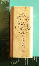 JRL Design Rubber Stamp; Baby Rattle; I 119