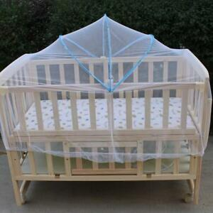 Summer-White-Baby-Cradle-Bed-Canopy-Mosquito-Net-Toddlers-Crib-Cot-Netting-Safe