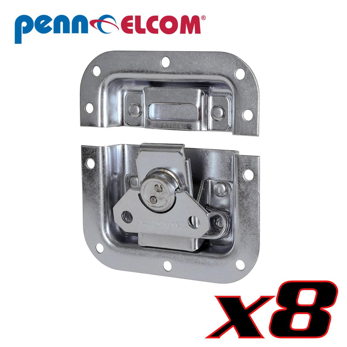 Eight Pack Penn Elcom L905 928 Butterfly Latch 4.125  PennBrite