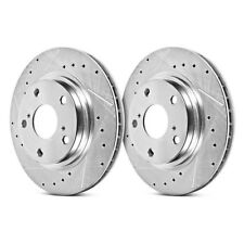 Power Stop JBR577XPR Front Evolution Drilled /& Slotted Rotor Pair
