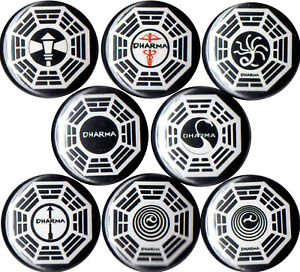 Lost-Dharma-Initiative-set-of-8-pins-buttons-TV-show-series