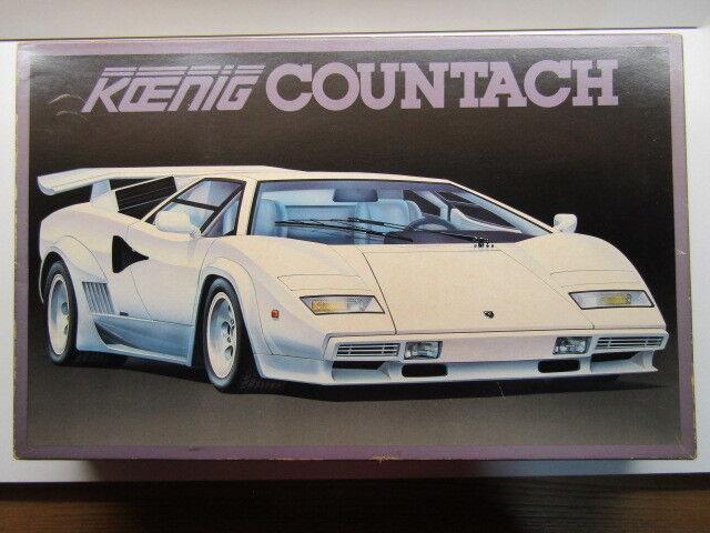 Fujimi 1 16 Scale Vintage Koenig Lamborghini Countach Special Very Rare - New
