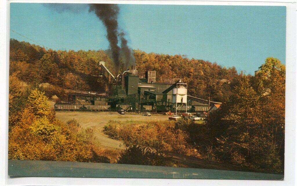 Modern Coal Mine Tipple Fayette County West Virginia postcard