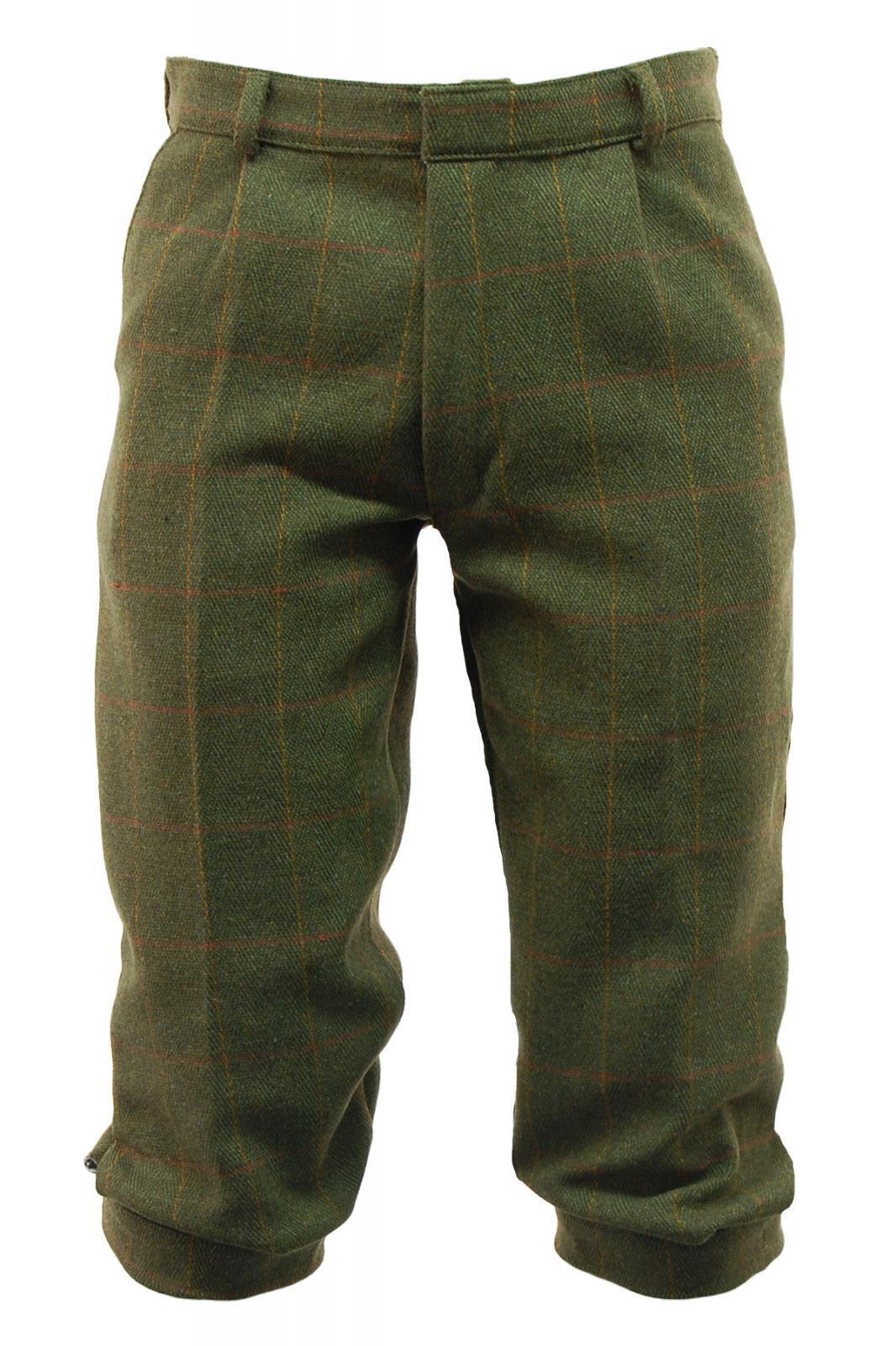 Game Derby Dark Tweed Breeks Men's Trousers Country Game Hunting Shooting
