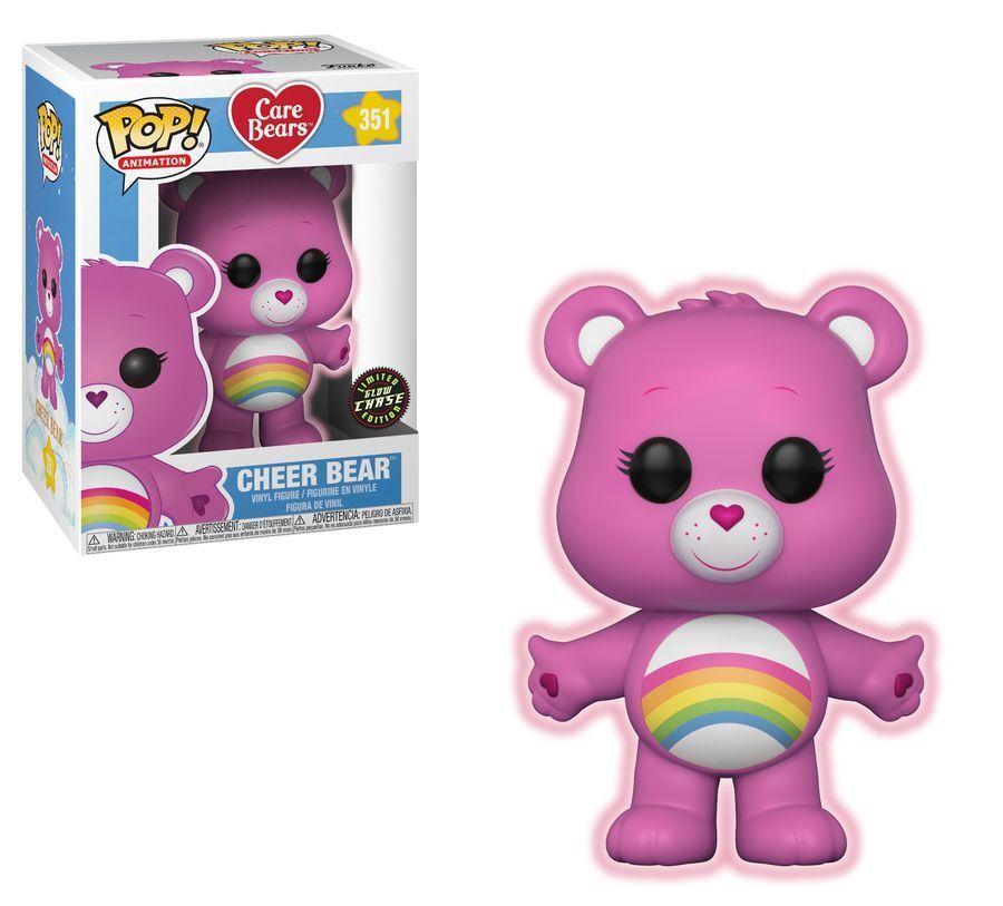 Care Bears - Cheer Bear Glow Chase POP  Vinyl